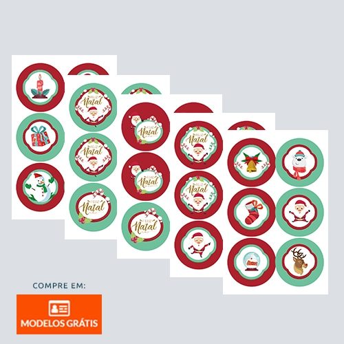 Stickers Natal